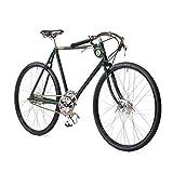 Pashley Speed 5 - Herrenfahrrad im Stil der klassischen Gentlemen-Rennräder, sportlich und edel - 5-Gang-Nabenschaltung, Rahmen 22,5'', grün. sportlich - edel - schnell