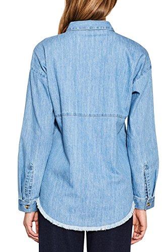 Esprit, Blouse Femme Bleu (Blue 430)