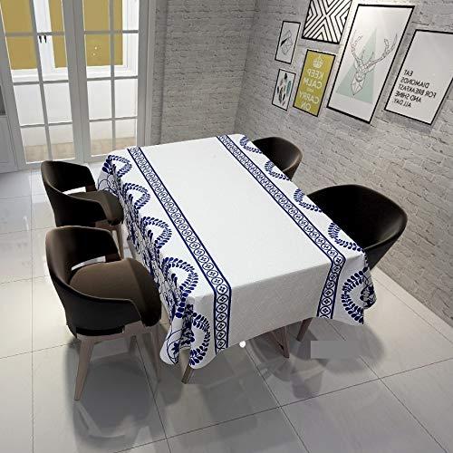 QWEASDZX Tischdecke Einfache Persönlichkeit Staubdichtes Antifouling Wiederverwendbare rechteckige Tischdecke Geeignet für den Innen- und Außenbereich Multifunktionale Tischabdeckung 150x150cm