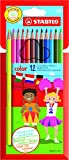 STABILO Colouring Pencil - Assorted Colours, Wallet of 12