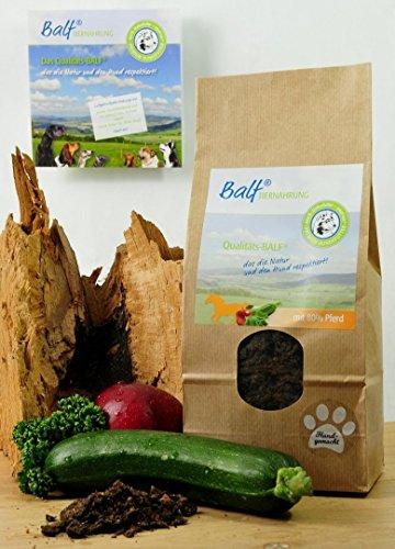 Meißmer BALF® PFERD mit Obst/Gemüse Alleinfuttermittel 3x1kg
