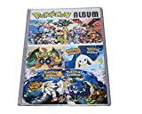 #3: Kiditos Pokemon Trading Card Album - 8 Pocket (Total 192 Pocket)