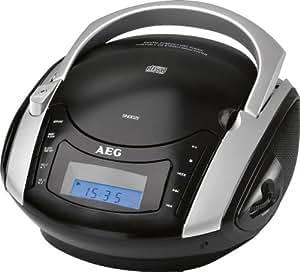 AEG SR 4347 Radio/Radio-réveil Lecteur CD MP3
