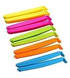 Dianoo 20PCS Lebensmittel Verschluss Clips Für die küche, Dichtung Beutel Clips Dichtung Beutel Clips, 11.5cm (Zufällige Farben)