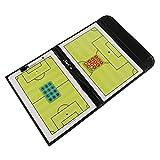 Fiturbo Taktiktafel Fußball Coach Board Coach-Mappe Taktikmappe für Fußball mit