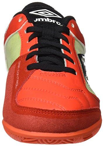 Umbro Umbro Pro Saal–Stiefel für Grenadine / Negro / Lime Green / Blanco