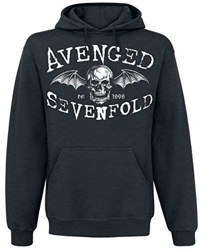 Avenged Sevenfold Overshadow Felpa con cappuccio nero M