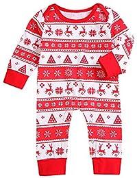 Riou Weihnachten Baby Kleidung Set Kinder Pullover Pyjama Outfits Set Familie Neugeborenen Baby Jungen Mädchen... preisvergleich bei kinderzimmerdekopreise.eu