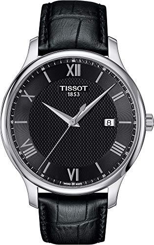 2557b4c6aba2 Tissot Stock Reloj Análogo clásico para Mujer de Cuarzo con Correa en Cuero  T0636101605800
