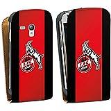 Samsung Galaxy S3 mini Tasche Schutz Hülle Walletcase Bookstyle 1. FC Köln Fanartikel Fussball
