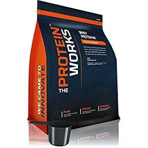 THE PROTEIN WORKS Whey Protein 80 Concentrate Shake - 2 kg, Unflavoured