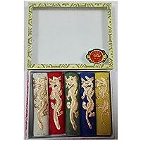 Set de 5 Barritas de Colores de Tinta China para Dibujo Caligrafia Pintura 4625