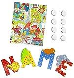 8 Sevi Holzbuchstaben Tiere für Wunschname inkl Geschenkverpackung Türbuchstaben Kinderbuchstaben Holz Dekobuchstaben (8 Holzbuchstaben)