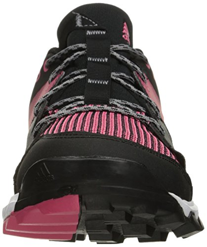 Adidas Kanadia 8 TR Synthétique Chaussure de Course Black-White-Pink