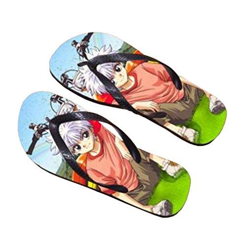 Bromeo Hunter X Hunter Anime Unisex Flip Flops Zehentrenner Flip Pantoffeln 933