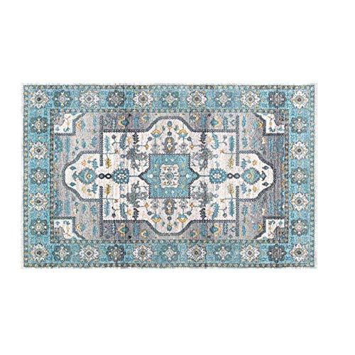 GXLO Persian Floral Oriental Formal Traditioneller Bereich Teppich Leicht Zu Reinigen Fleck Fade Resistant Shed Distressed Modern Dick Weicher Plüsch,C,160 * 230CM (Oriental Bereich Teppich)