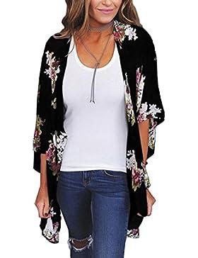 Homebaby® Copricostume Mare Cardigan Donna Estivo Chiffon -Scialle Elegante Costume da Bagno Sexy - Kimono Vestito...