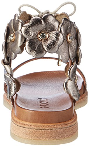 Inuovo 7152, Sandali Donna Argento (Pewter)