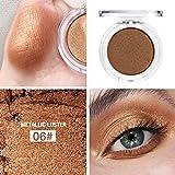 Xmansky Single Color Matt Mineral Pigment Lidschatten Palette Bilden Set Matt Beauty Make-Up