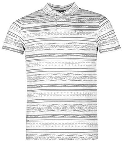 mens-stylish-aztec-print-polo-shirt-cotton-top-xx-large-white-sand