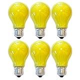 6X Lampadine LED lampadina forma Anti Insetti 5W E27Giallo