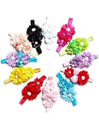 Yourig Hairband for Baby Girls Flower Chiffon Children Headband 1 PCS