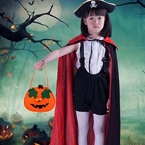 Funny Halloween Candy Bag Geschenk für Kinder, yoyoug Happy Halloween Candy Tasche Snack Paket Kinder Haushalt Kid Garten Home Decor, Vliesstoff, a, Einheitsgröße (Tote Große Schokolade Handtasche)