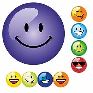 234 Smiley Faces Multi Coloured Praise Stickers Teacher Parents Children