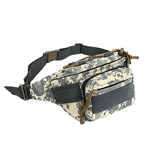 TaoMi- Outdoor-Rucksack - Taschen Camouflage Multifunktions-Oblique Cross-Paket Outdoor Sport Schultertasche A