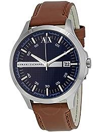 7dc90900134 Armani Exchange Hampton uomo quadrante nero in acciaio INOX Band cronografo  – AX2163