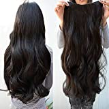 Clip In Brazilian Remy Human Hair Extension Body Wave - 20 inches