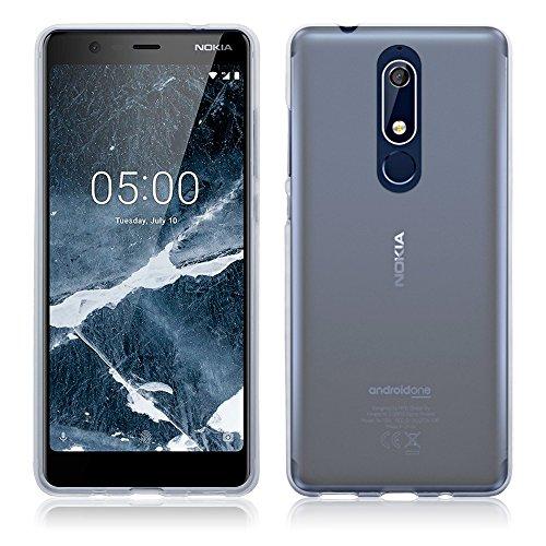 TERRAPIN, Kompatibel mit Nokia 5.1 Hülle, TPU Schutzhülle Tasche Case Cover - Transparent