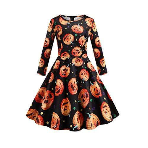Sweet 16 Halloween Kostüm - YAM DER Mädchen Rundkragen Halloween Kostüm