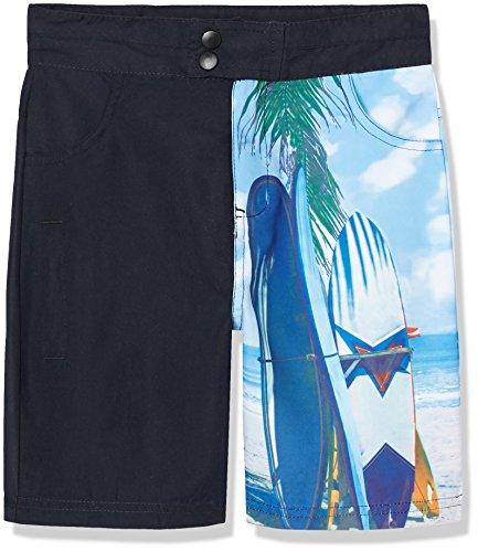 RED WAGON Bañador Surf para Niños, Azul Blue, 4 años