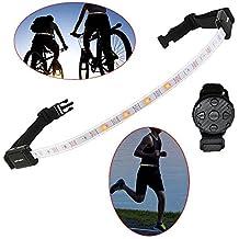 Led Ceinture Réfléchissante, ZealBea Course Réfléchissant LED Gear pour  Course Marche Cyclisme d animal bc69d708182