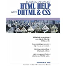 HTML Help, DHTML and CSS (Hewlett-Packard professional books) by Jeannine M.E. Klein (2000-09-06)