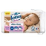 Lotus Baby Ultra Douce - Coton Bébé Peaux Sensibles (Lot de 5 Paquets de 65 Cotons)