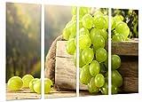Poster Fotográfico Uvas, Vino Blanco, La Rioja, Bodegas Tamaño total: 131 x 62 cm...
