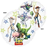 Toy Story Super Clear Foil Party Balloon (uninflated), Large size 26 ins / 66 cms
