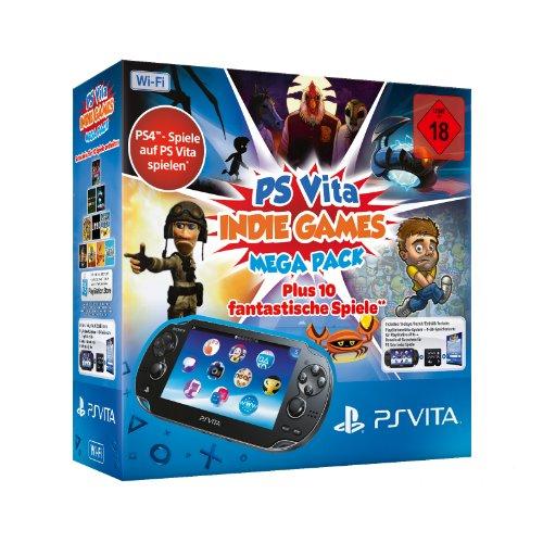 PlayStation Vita Wi-Fi inkl. Indie Games Mega Pack