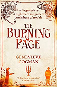 The Burning Page (The Invisible Library series) (English Edition) van [Cogman, Genevieve]