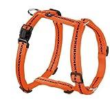 Hunter Hundegeschirr Power Grip Vario Rapid, S, orange, Nylon