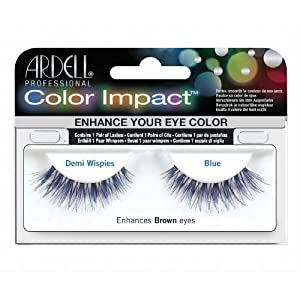 ARDELL Color Impact False Lashes - Blue Demi Wispies by Ardell