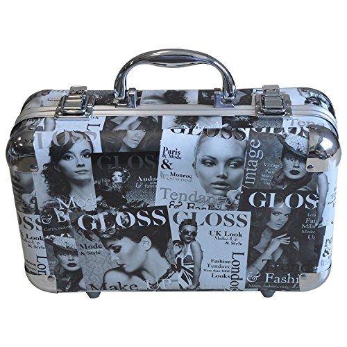 Gloss! Caso de la Belleza de Tendencia 62PCS - 1 set de belleza