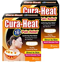 Cura Wärme Hals und Schulter Schmerzen direkt auf Haut–2x 3er Pack preisvergleich bei billige-tabletten.eu