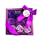 Gift Rose Soap Rose Petals Bathing Soap Withboxvalentine's Day Romantic By Handmade A