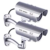 Best Dummy Cameras - 2 x IDAODAN Fake Dummy Camera Security CCTV Review