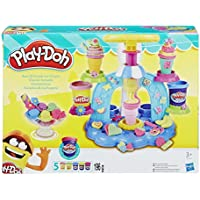 Play-Doh Sweet Shoppe Swirl 'n Scoop Ice Cream Helados de rechupete, (Hasbro B0306EU8)