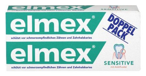 Elmex SENSITIVE Zahnpasta, Doppelpack (2 x 75ml)