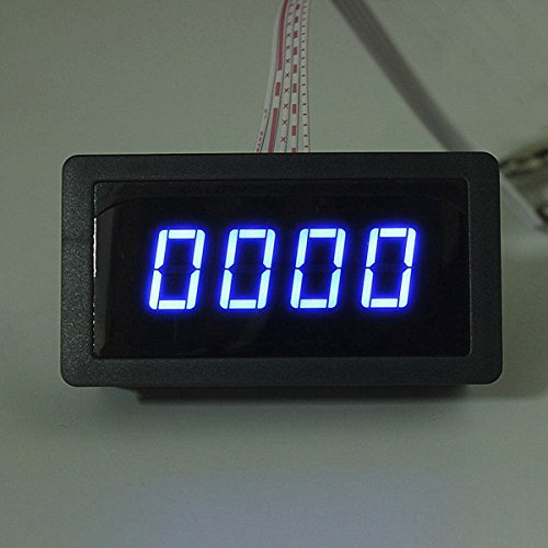 LaDicha 4 Digital Led Tachometer Drehzahlmesser + Näherungsschalter Sensor Npn